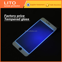 2015 new kinds anti blue light tempered glass screen protector for iphone 6,protect your eyes