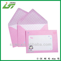 4C printing wholesale mini gift envelope for gift cards