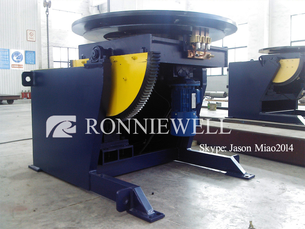 Manual welding positioner / Welding turning table