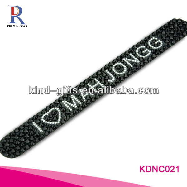 Bling Rhinestone Battery Operated Nail Files
