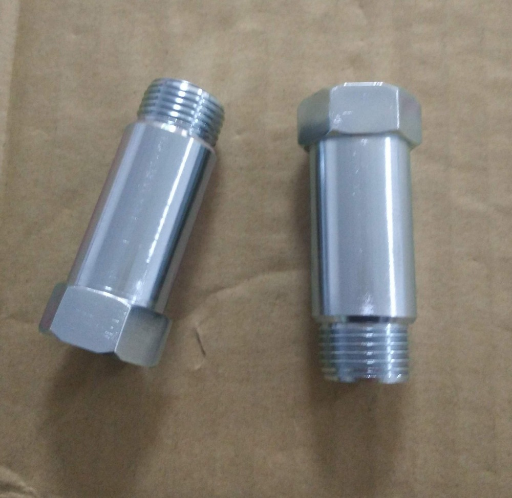 Universal Fit <strong>Oxygen</strong> <strong>O2</strong> Sensor Spacer Adapter Extenders CEL Fix Kit for Exhaust Systems with M18 x 1.5 Sensor Ho