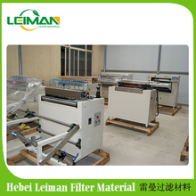 LMCZ55-600-II Full-auto oil filter knife paper non-woven fiber pleating production line with low failure rate