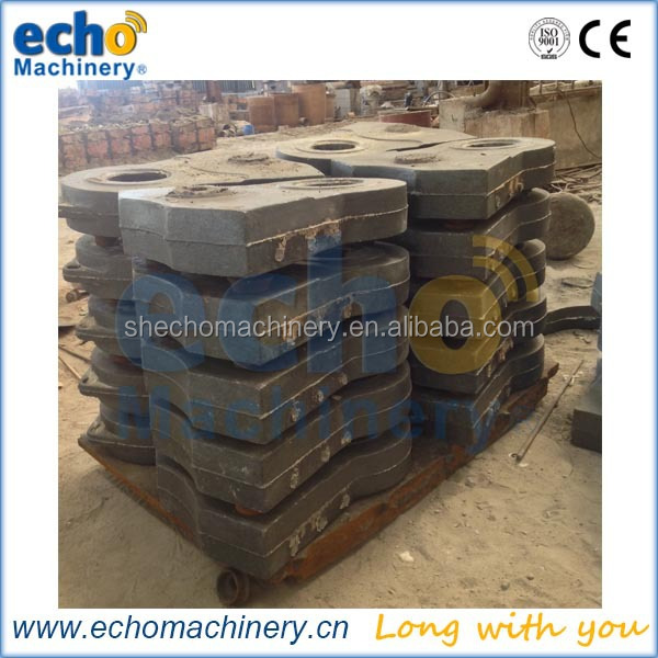 metal shredder spare part high manganese steel scrap metal shredder hammer