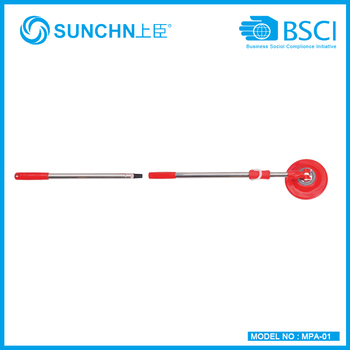 high quality hand press magic mop pole with two years quality confirm