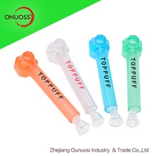 China Wholesale Plastic Crystal Tobacco Smoking Pipes Weed