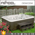2017 new high quality family 7 person freestanding acrylic portable outdoor spa sex massage chinese hot tub