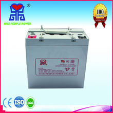 GEL deep cycle rechargeable 12v 55ah rechargeable battery for solar pannel