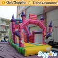 Castle Style Children Cheap Inflatable Super Slide for Sale