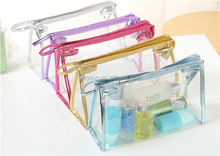 Transparent PVC Cosmetic Bags Travel Bag Beauty Case