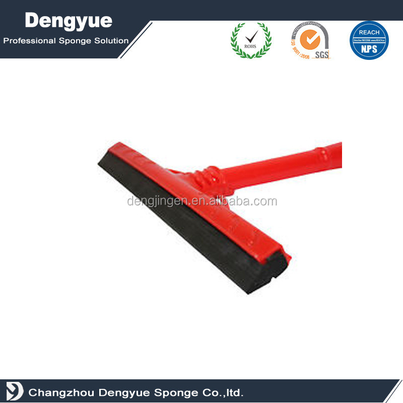 best price waterproof high-elastic close cell/closed-cell CR wiper rubber blade floor squeegee