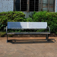 Outdoor furniture stainless steel bench