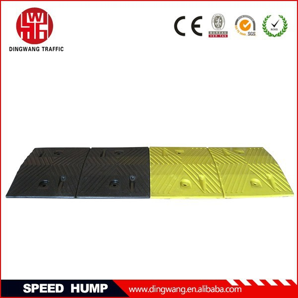 500MM Trapezoidal Rubber Flexible Speed Hump