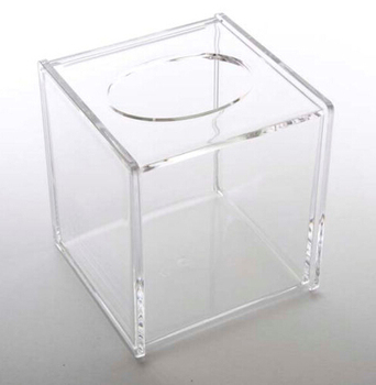 Clear acrylic tissue box/facial tissue box