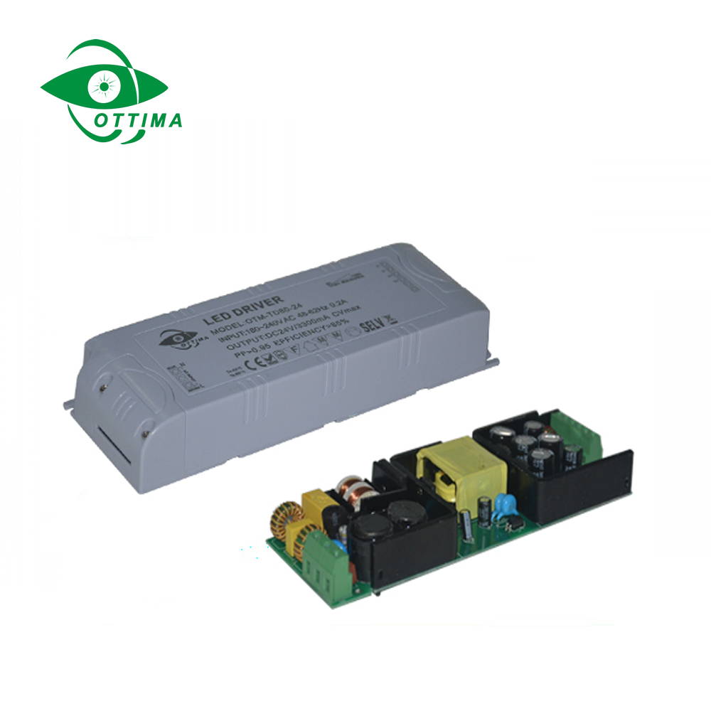 80w 12V 24V dc Constant Voltage Dimmable LED Driver triac Dimming LED driver for Strip Light