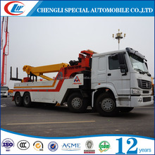 Heavy duty 6*4 20ton used wreck truck 16ton tow truck wrecker with crane 10ton
