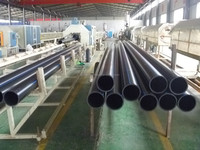 PE pipe alibaba water/gas supply PE80/100 hdpe pipeline