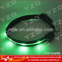 Most safety Running LED dog collar with mini bell