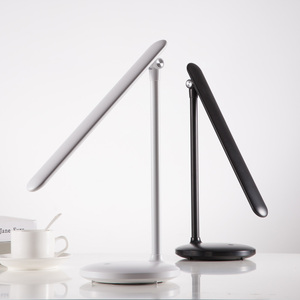 OneFire High Quality Bedroom Table LED Lamp Study Reading Light Battery Rechargeable Desk Table Lamp