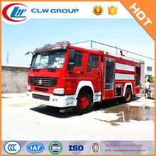 HOWO foam tank fire fighting truck from manufacturer directly