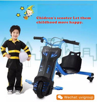 100w Trike Drift Electric Pocket Bike Mini Kids Car 3 Wheels Motorcycles