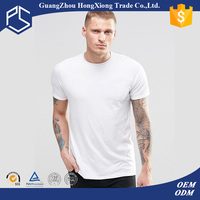 China Factory Hongxiong Latest Style 180 Grams Short Sleeve Round Neck Cotton Printing White Men Led Panel T-Shirt