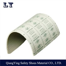 Non-Metal Fabric Anti-Penetration Kevlar Insole For Safety Shoes with High Quality