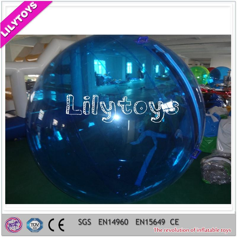 1.0mm TPU inflatable floating water ball, colocrful water walking ball,