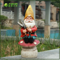 American Style Small Resin Gnome Figurine
