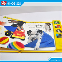 Kids picture button sound book