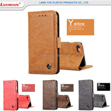 Luxury Leather Scrub Flip Wallet Case For Huawei Note9/5 G700 With Credit Card Slots Wallet Leather Phone Case