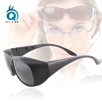 Polarized Lenses Optical Attribute and Fashion Sunglasses Style fit over glasses