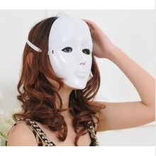 New design custom Halloween Mask ladies entire face plastic mask