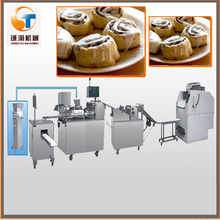 easy operation china food machine for cinnamon roll