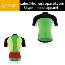 Comfortable Breathable Full Zip Short Sleeve Cycling Jersey Quick Dry Wholesale Team Bicycle Tops 4XS-4XL Summer Sportswear