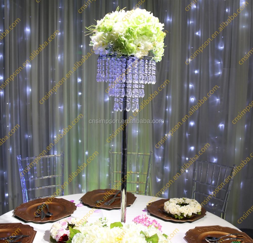 Wholesale foshan chandeliers online buy best foshan chandeliers h70cm crystal like beaded strongchandelierstrong wedding centerpieces junglespirit Choice Image