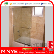toughened glass tempered Glass sliding shower door