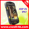 Dual sim outdoor smartphone waterproof