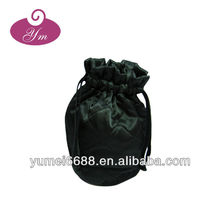 Hot sale!!!fashion promotional satin drawstring bags