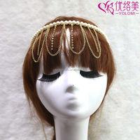 Fashion Chain Hair Accessories Head Chain Wholesale Hair Jewelry HDC-61217