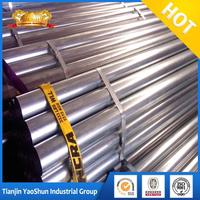 astm a120 galvanized steel pipe/ galvanized fence pipe