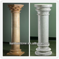 round hollow column, marble columns for sale
