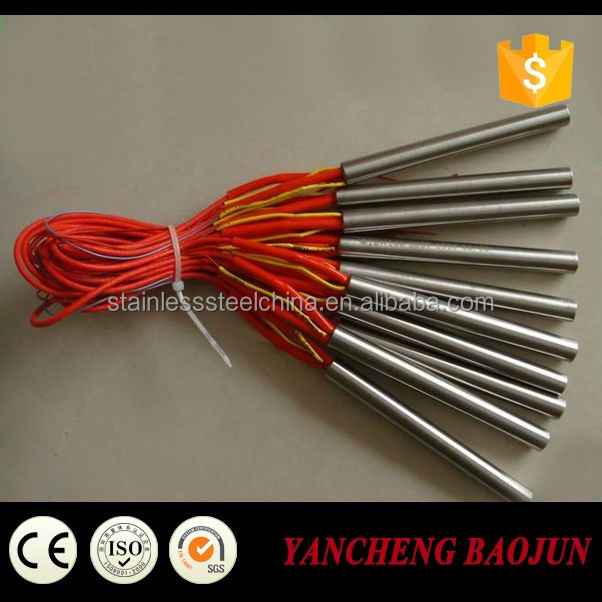 12v Cartridge Heater with K Type Thermocouple for chemicals
