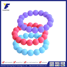soft silicone beads of bracelet superman silicone wristband