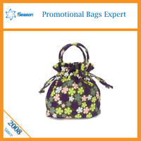 china supplier wholesale cotton fabric drawstring bag small