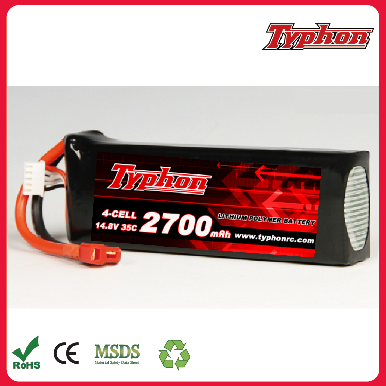 RC Lipo Battery 14.8V 2700mah 35C for FT010 FT011 RC boat RC Helicopter Quadcopter