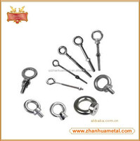 Forged Hot Dip Galvanized Hock Lifting Eye Bolt (With Nut & Washer)