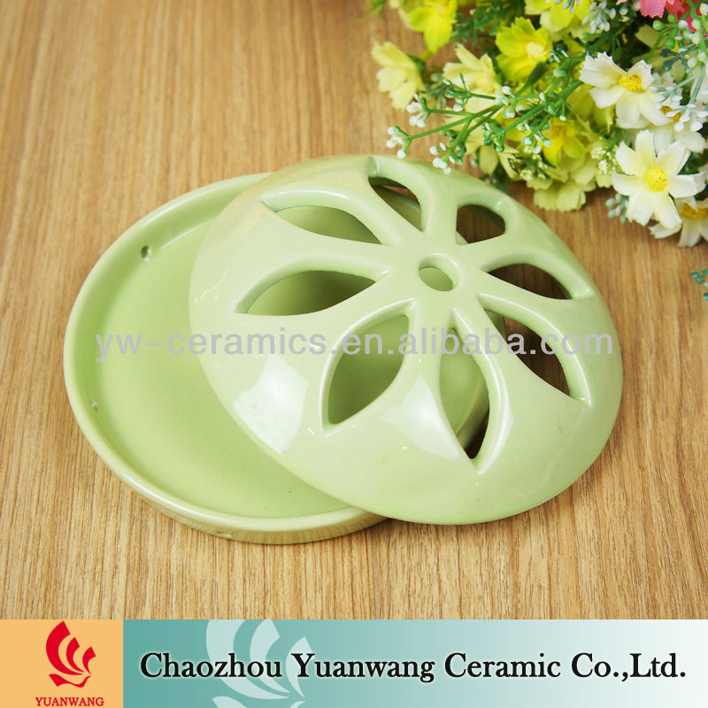 Terracotta Ceramic Mosquito Coil Holder