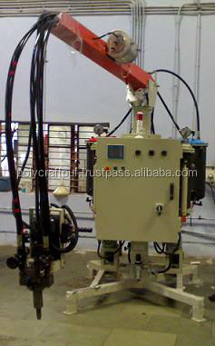 PU foaming machine for rigid insulation Puff panel manufacturing