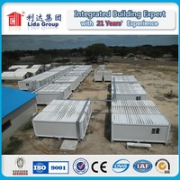 Middle east QATAR/SAUDI/UAE CE/SGS/ISO Top 10 Prefab House Container for Mining Accommodation/site office/toilet