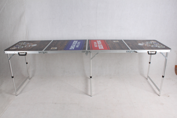4 Sections (2.4m 8') 8ft beer pong table